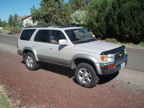 1997 toyota 4runner limited 4x4 v6 usa used. Black Bedroom Furniture Sets. Home Design Ideas